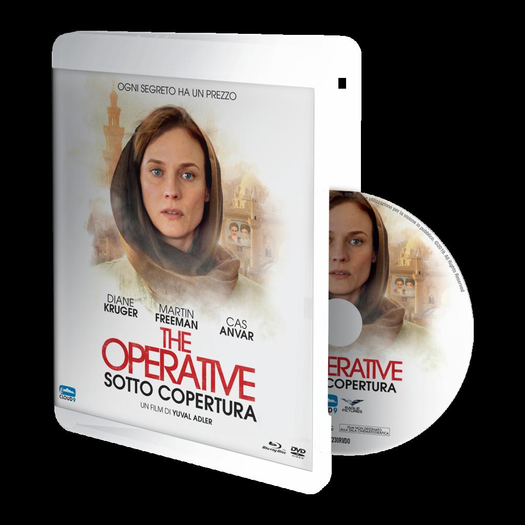 Il combo dvd e blu-ray di The Operative con Diane Kruger e Martin Freeman