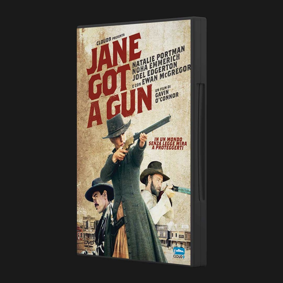 Jane Got a Gun home video