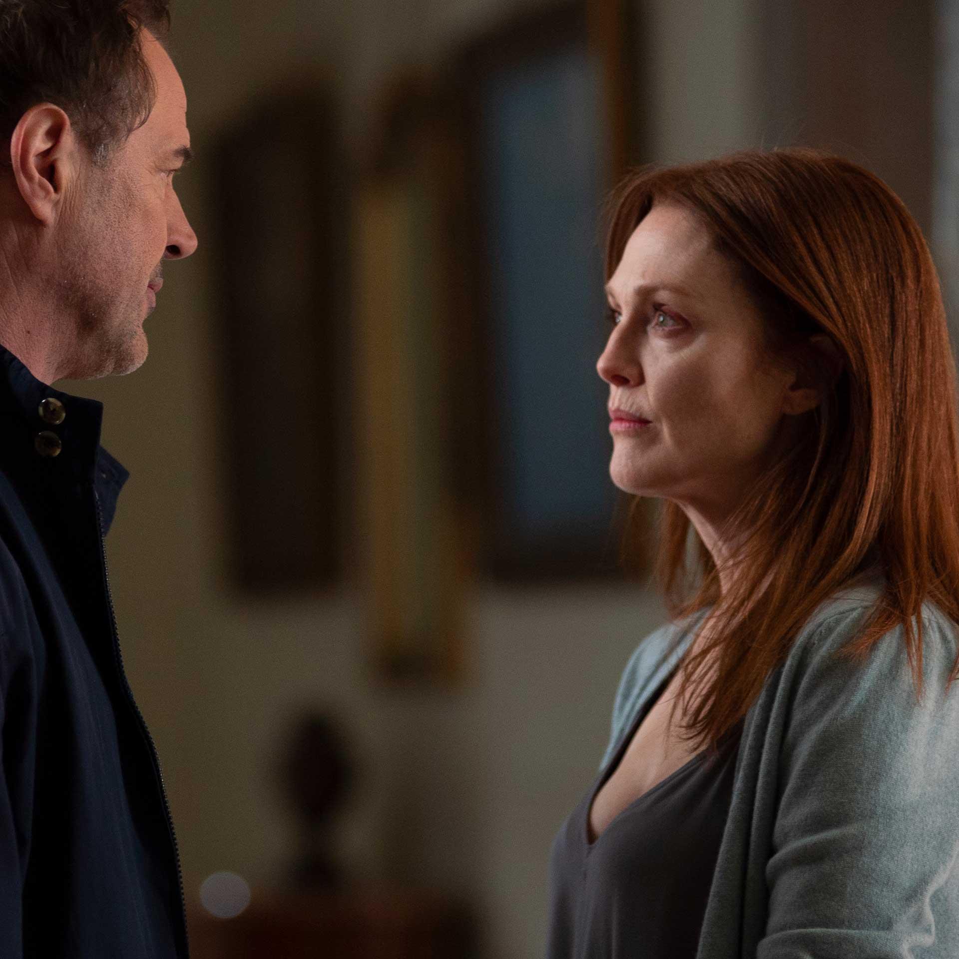 Julianne Moore e Sebastian Koch in Sotto Sequestro