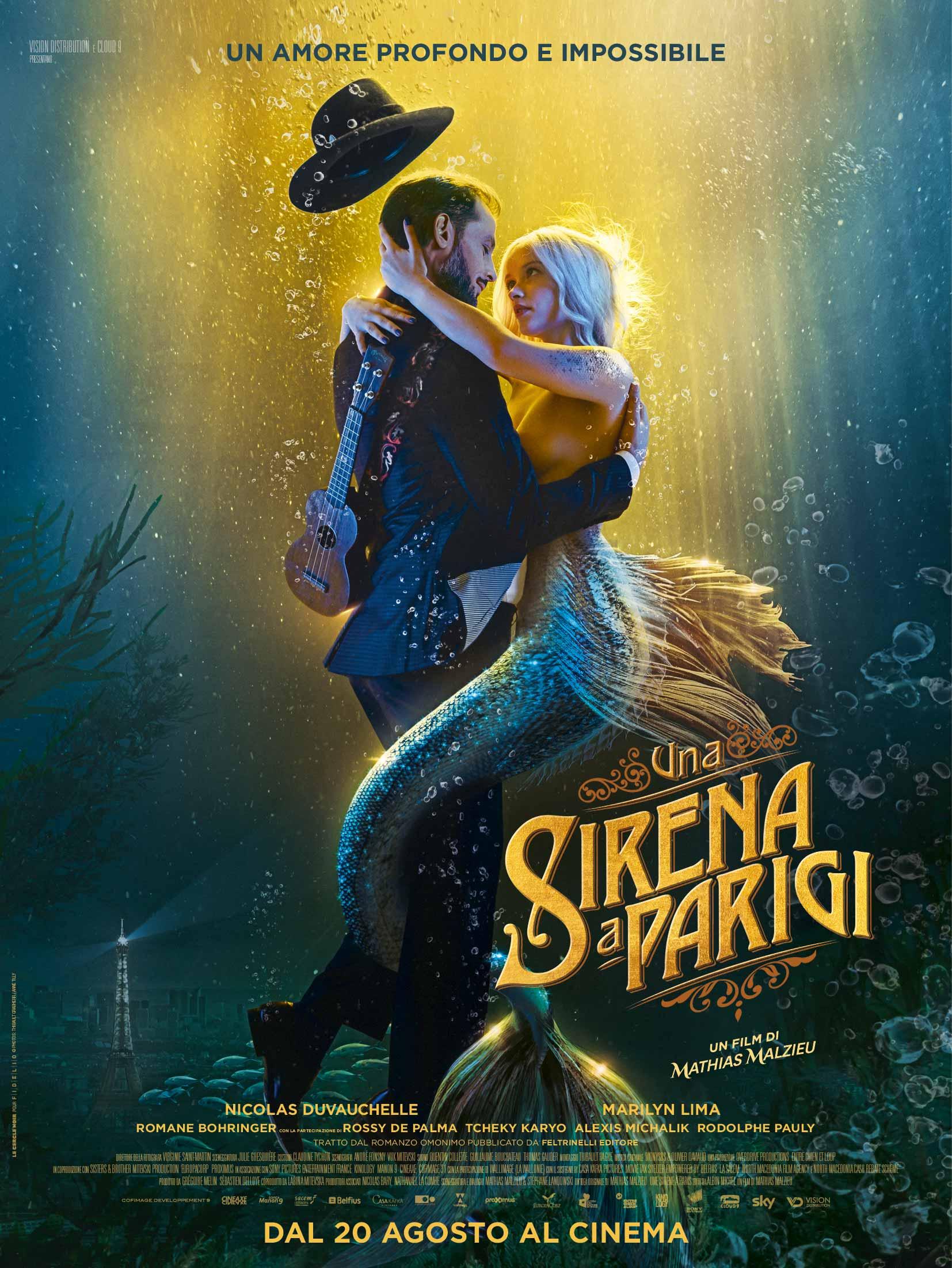 Una sirena a Parigi: si torna al cinema!