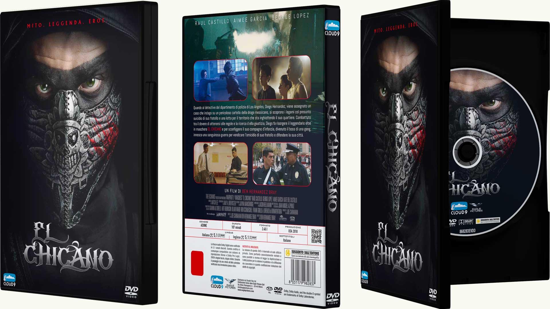 El Chicano pubblicato in DVD