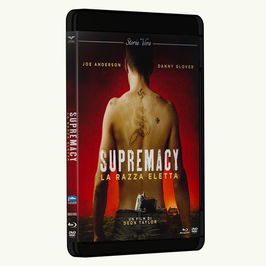 SUPREMACY: ORA ANCHE IN DVD E BLU-RAY