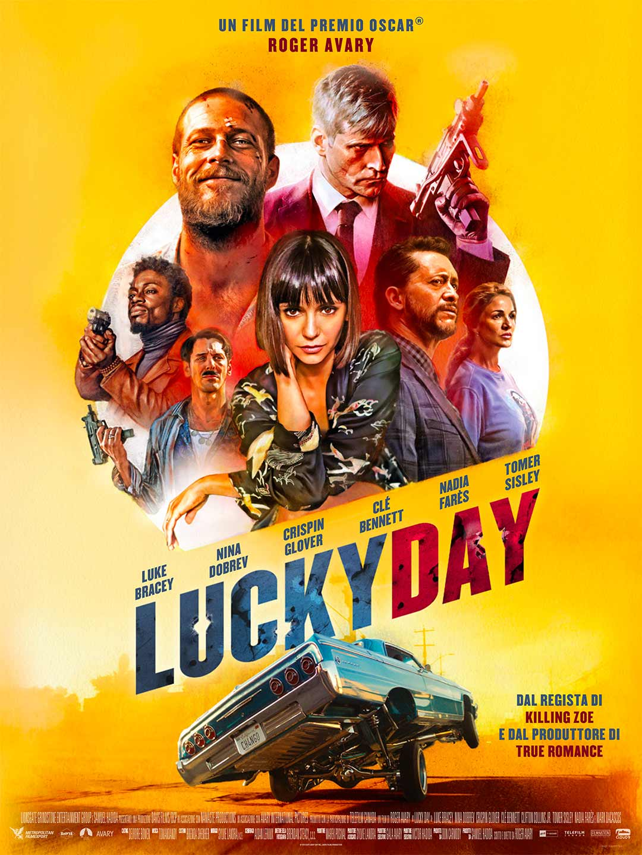 Lucky Day - locandina ufficiale italiana